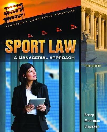 9781138078147: Sport Law: A Managerial Approach