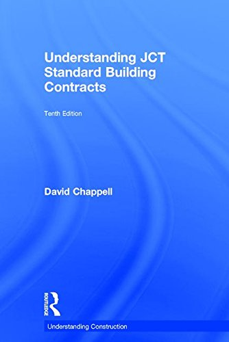 9781138082748: Understanding JCT Standard Building Contracts (Understanding Construction)