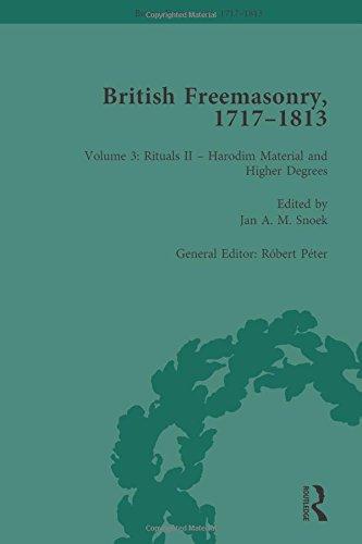 9781138100190: British Freemasonry, 1717–1813 Volume 3