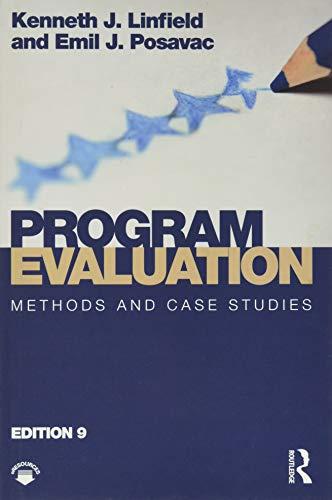 9781138103962: Program Evaluation: Methods and Case Studies