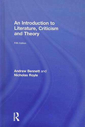 9781138119024: An Introduction to Literature, Criticism and Theory