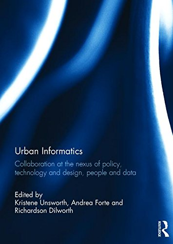 9781138119499: Urban Informatics: Collaboration at the nexus of policy, technology and design, people and data