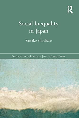 9781138120808: Social Inequality in Japan