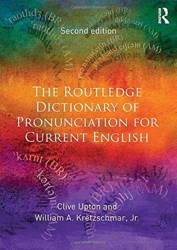 9781138125667: The Routledge Dictionary of Pronunciation for Current English