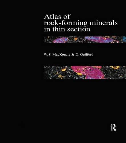 9781138126435: Atlas of the Rock-Forming Minerals in Thin Section