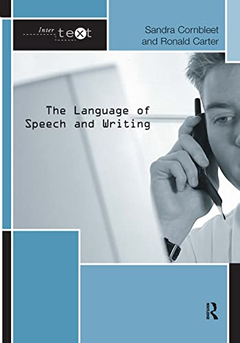 9781138126626: The Language of Speech and Writing (Intertext)