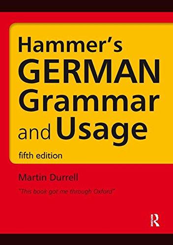 9781138127098: Hammer's German Grammar and Usage (Routledge Reference Grammars) (German Edition)