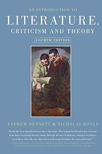 9781138127111: An Introduction to Literature, Criticism and Theory
