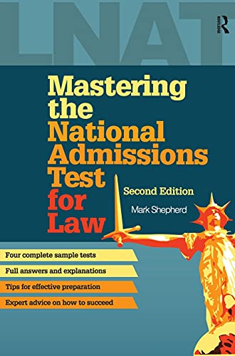 9781138127357: Mastering the National Admissions Test for Law