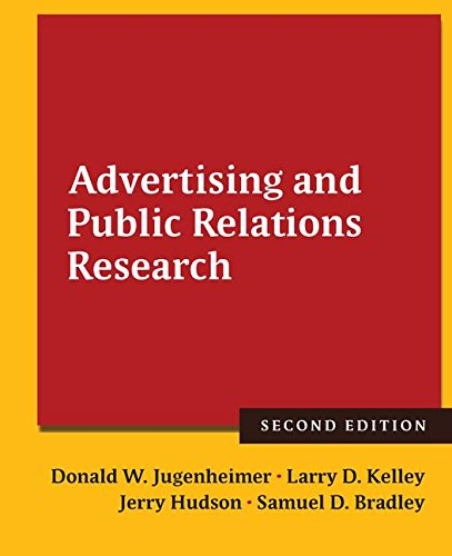 9781138127487: Advertising and Public Relations Research
