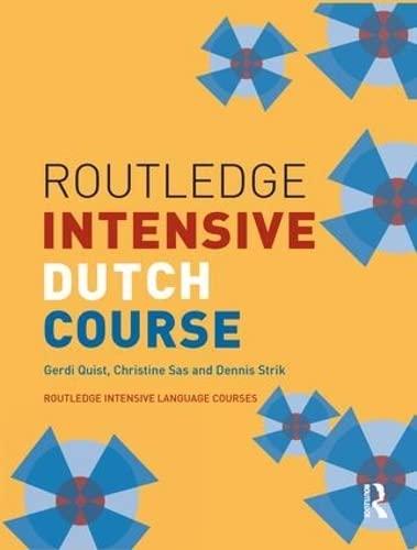 9781138128699: Routledge Intensive Dutch Course (Routledge Intensive Language Courses)