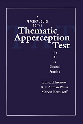 9781138129658: A Practical Guide to the Thematic Apperception Test: The TAT in Clinical Practice