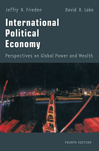 9781138129887: International Political Economy: Perspectives on Global Power and Wealth