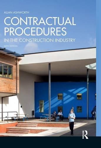 9781138130005: Contractual Procedures in the Construction Industry