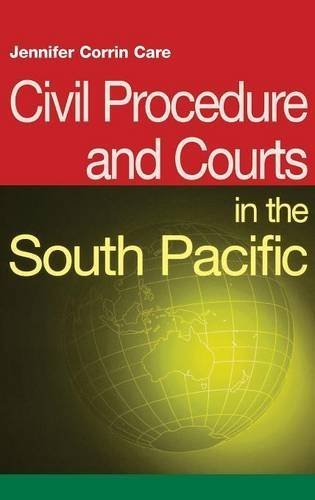 9781138130043: Civil Procedure and Courts in the South Pacific (South Pacific Law)
