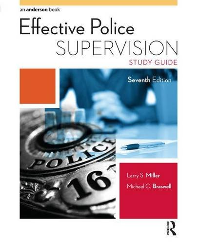 9781138130494: Effective Police Supervision Study Guide
