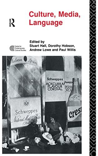9781138132139: Culture, Media, Language: Working Papers in Cultural Studies, 1972-79 (Cultural Studies Birmingham)
