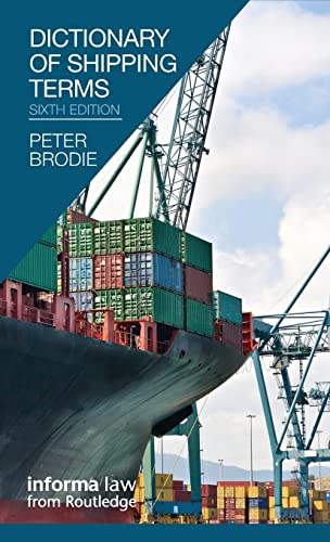 9781138132177: Dictionary of Shipping Terms