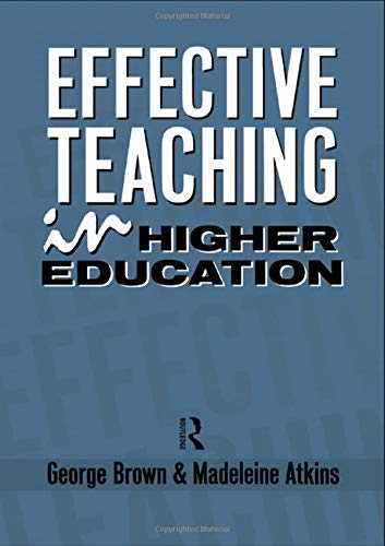 9781138133242: Effective Teaching in Higher Education