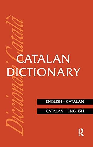 9781138133419: Catalan Dictionary: Catalan-English, English-Catalan (Routledge Bilingual Dictionaries)
