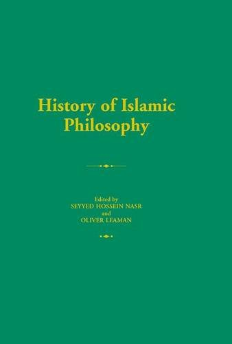 9781138134522: History of Islamic Philosophy (Routledge History of World Philosophies)
