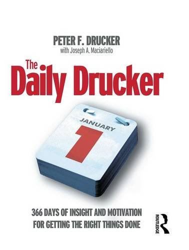9781138134836: The Daily Drucker