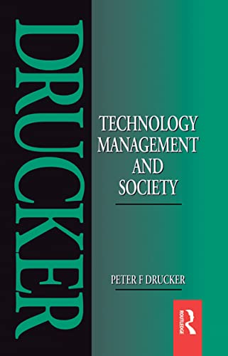9781138135109: Technology, Management and Society