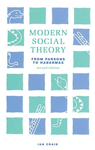 9781138136571: Modern Social Theory