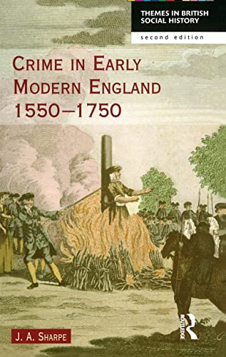 9781138136809: Crime in Early Modern England 1550-1750