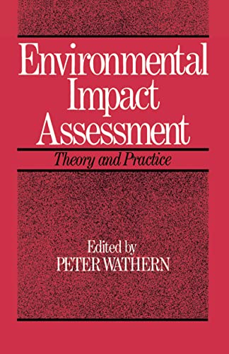 9781138137448: Environmental Impact Assessment: Theory and Practice