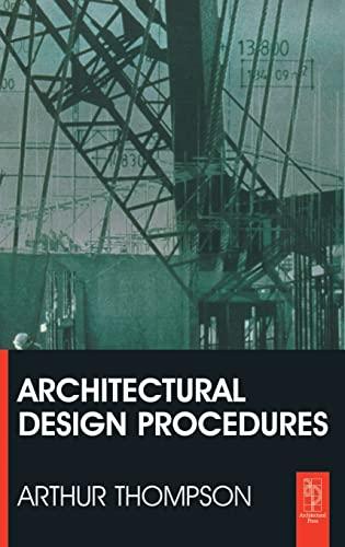 9781138137769: Architectural Design Procedures