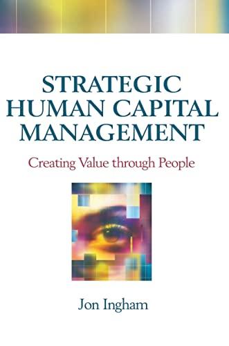 9781138138971: Strategic Human Capital Management