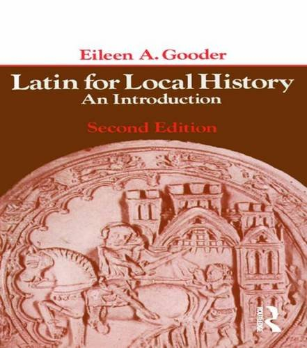 9781138139060: Latin for Local History: An Introduction