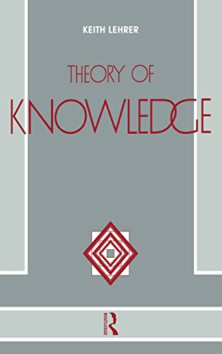 9781138139176: Theory of Knowledge