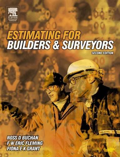 9781138139534: Estimating for Builders and Surveyors
