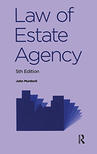 9781138139695: Law of Estate Agency