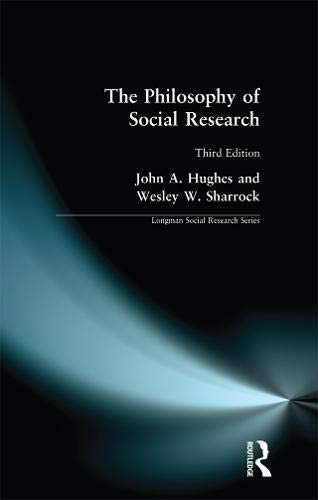 9781138141308: The Philosophy of Social Research (Longman Social Research Series)