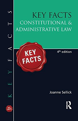 9781138141803: Key Facts: Constitutional & Administrative Law