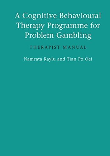 9781138143333: A Cognitive Behavioural Therapy Programme for Problem Gambling: Therapist Manual