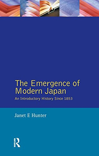 9781138143531: The Emergence of Modern Japan: An Introductory History Since 1853