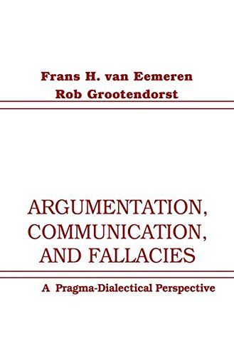 9781138144552: Argumentation, Communication, and Fallacies: A Pragma-dialectical Perspective