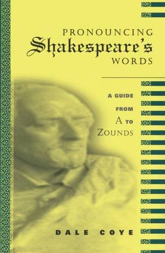 9781138145108: Pronouncing Shakespeare's Words