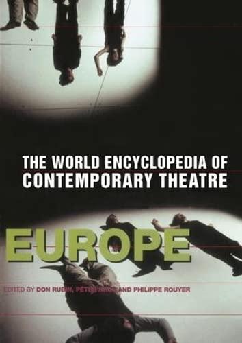 9781138145351: World Encyclopedia of Contemporary Theatre: Volume 1: Europe
