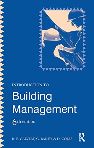 9781138145498: Introduction to Building Management