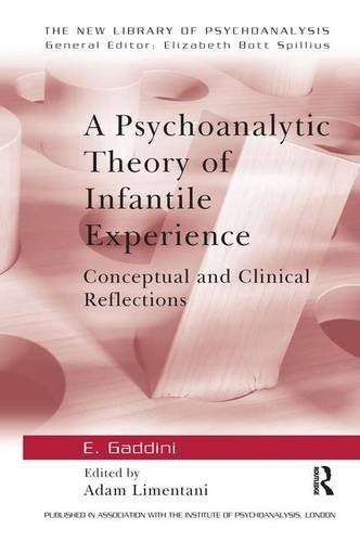 9781138145559: A Psychoanalytic Theory of Infantile Experience: Conceptual and Clinical Reflections (The New Library of Psychoanalysis)