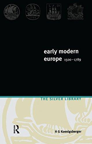 9781138145566: Early Modern Europe 1500-1789