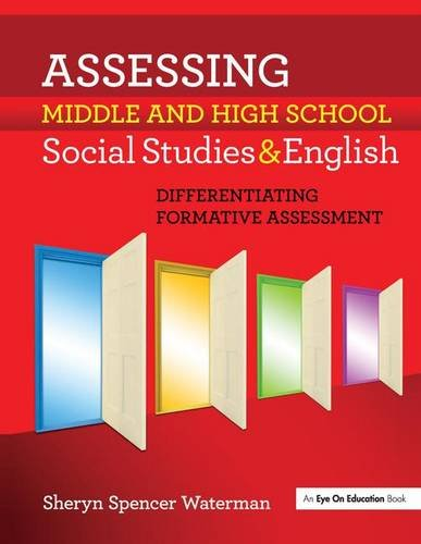 9781138145641: Assessing Middle and High School Social Studies & English: Differentiating Formative Assessment