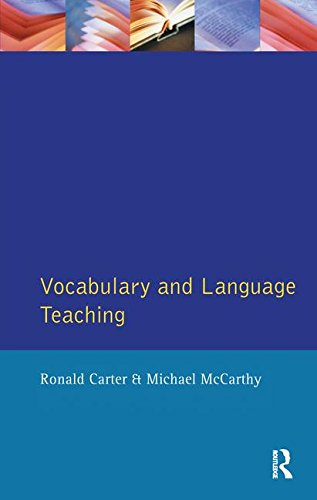 9781138145689: Vocabulary and Language Teaching (Applied Linguistics and Language Study)
