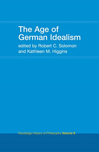 9781138146396: The Age of German Idealism: Routledge History of Philosophy Volume 6