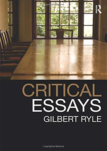 9781138146525: Critical Essays: Collected Papers Volume 1